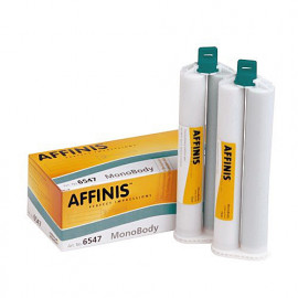 AFFINIS MONO BODY SYSTEM 75 RECH. 2 CARTOUCHES DE 75 ML + 8 EMBOUTS MELANGEURS