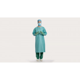 BLOUSE CHIRURGICALE STERILE BARRIER BASIC L X44
