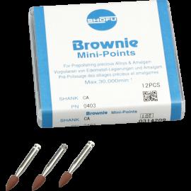 BROWNIE MINI POINTS  X12