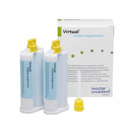 VIRTUAL CADBITE REGISTRATION 2 X 50 ML + 12 EMBOUTS