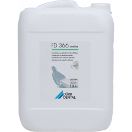 FD 366: DESINFECTION RAPIDE DES SURFACES SENSIBLES BIDON DE 10 L