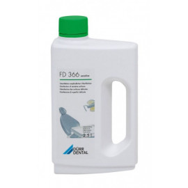 ACTION FD 366 SENSITIVE: DESINFECTION RAPIDE DES SURFACES SENSIBLES BIDON DE 2.5 L (disponible à ce jour)