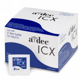 ICX: COMPRIMES DE DESINFECTION POUR ADEC 2L X 50