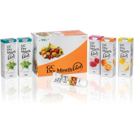 DRY MOUTH GEL PACK ASSORTI: 10 TUBES DE 40 GR.