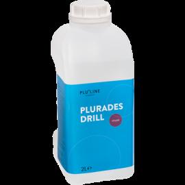 PLURADES DRILL: PRODUIT POUR INSTRUMENT ROTATIF PLURADENT 2 L.