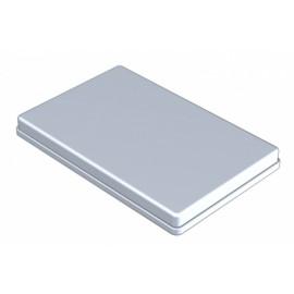 COUVERCLE INOX POUR PLATEAU 18 X 28 CM