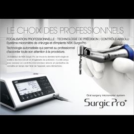 SURGIC PRO + D LED: MOTEUR DE CHIRURGIE COMPLET