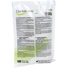 DENTALRAPID SD LINGETTES RECHARGE X100 (disponible)