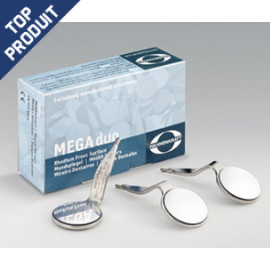 MEGA DUO RHODIUM MIROIR DOUBLE FACE HAHNENKRAT X 6